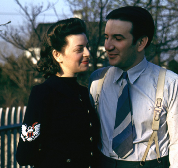 Pearl and Raymond, early 1940s