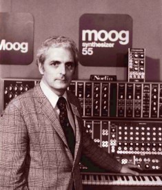 Bob Moog & his machines