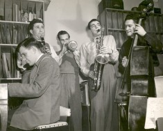Raymond Scott Quintette, 1948 (not pictured: drummer Kenny Johns)