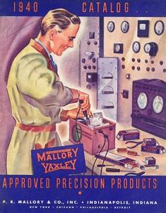 Mallory-Yaxley catalog, 1940