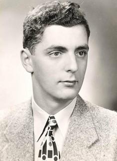 young Bob Moog