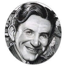 Raymond Scott by Drew Friedman